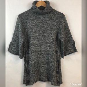 Derek Heart | Sweater Turtleneck Wide 3/4 Sleeves